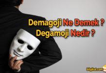 demagoji;demagoji-nedir;demagoji-ne-demek;demagoji-yapmak;demagoji-sözler